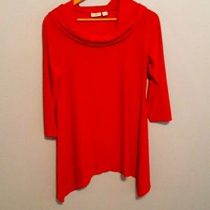 Red Cato blouse small